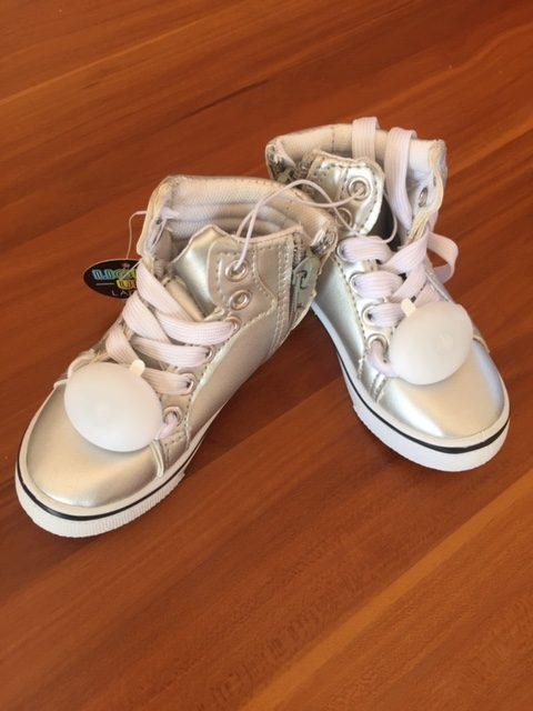 Unisex Silver Footwear