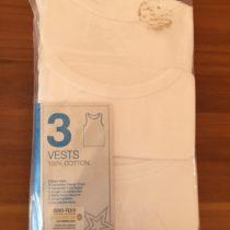 Primark 3 Piece Vests