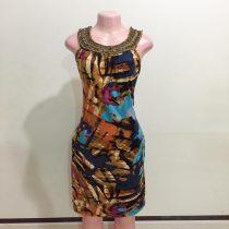 Colour Print Ladies Dress (Size 8&10)
