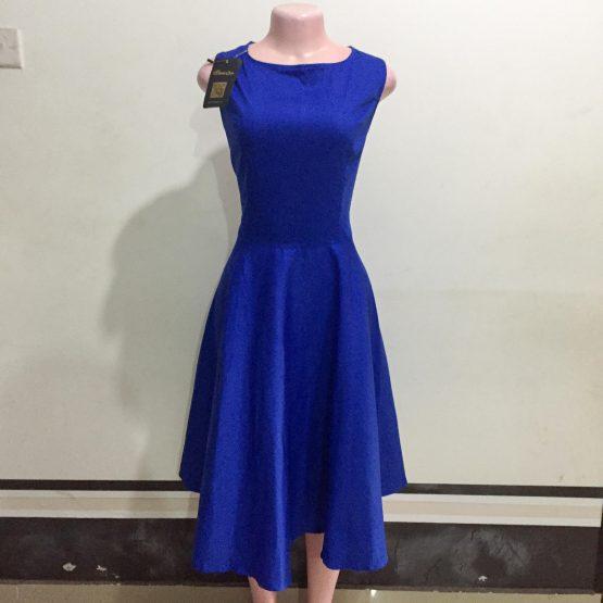 Royal Blue Dress (Size 14-16)