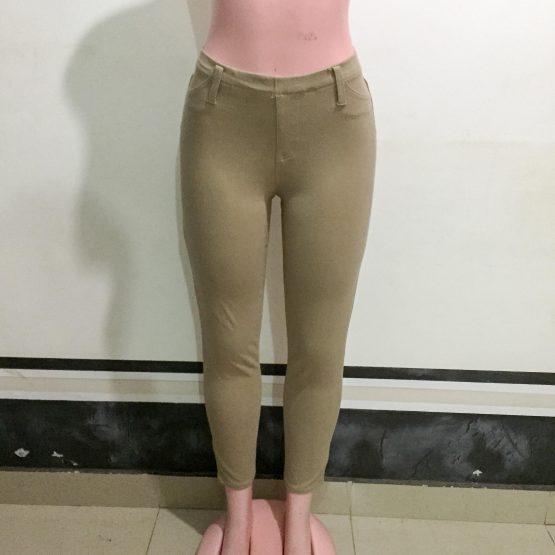Beige Skinny Pants (Size 8-10)