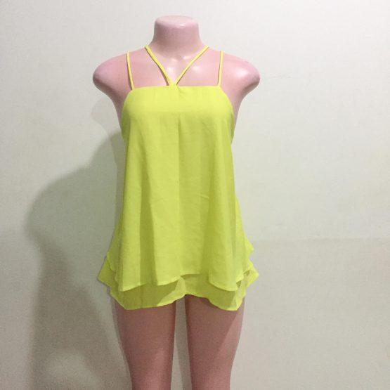 Ladies Yellow Top (Size 14-16)